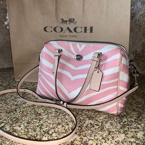 NEW! Zebra Coach Bag